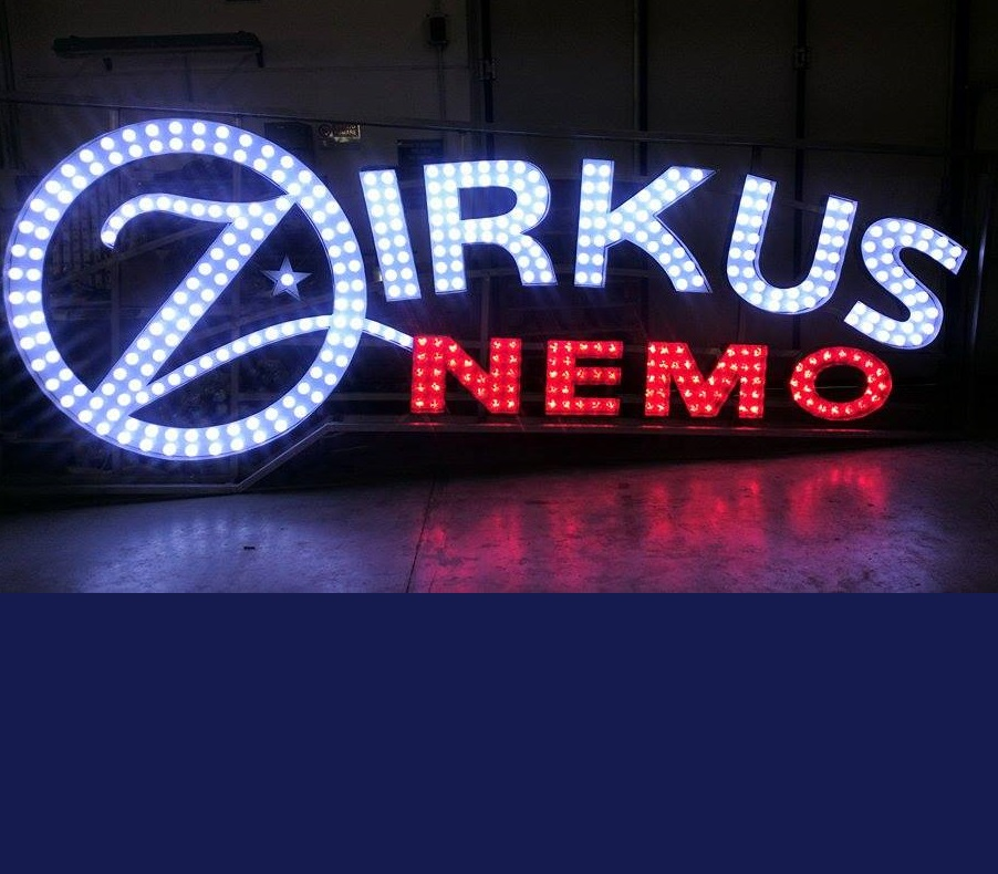 LIGHTED SIGN