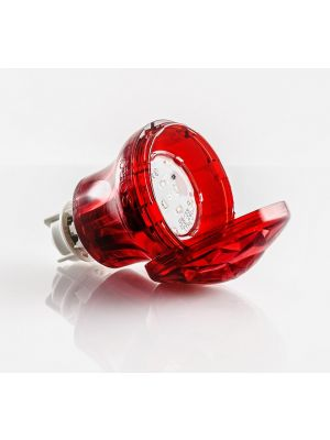 FAIRGROUND LED LAMPS - Cabochon TURBO light S 60V complete with lampholder and E14 lamp Led 60V 1.2W (10W) waterproof