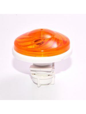 LIGHTS FOR ATTRACTIONS FOR FUN PARKS - CABOCHON TURBOLIGHT FLAT WITH LAMPHOLDER AND LED E14 60V 1.2W (10W) -IP67-12 COLORS