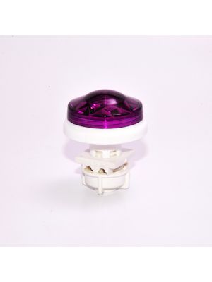 Small Flat Cabochon lighting LED E10 - PURPLE