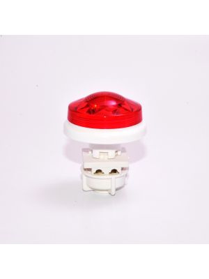 LED illumination feirground - Pixel fairground Small Flat Cabochon LED E10 - FUCHSIA