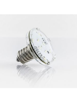 Amusement LED illumination -turbolight-Lamp E14 11 LED 60V 1.2W waterproof (230V-4 series lamps) HIGH TECH