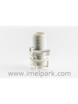 Festive street light - Lamp holder for cabochon E14 with cable clamp nut