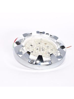LED illumination fairground - ROTATING LED RGB  ( NR. 10 PZ )  CONTROL UNIT IN GIFT