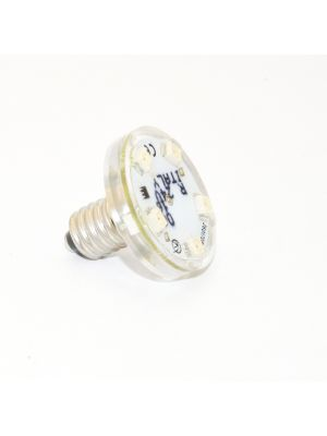 Lampada a LED E10 8 LED 24V 1W waterproof - WARM