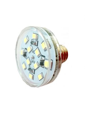 Lampada E14 16 LED 60 V  1 W waterproof